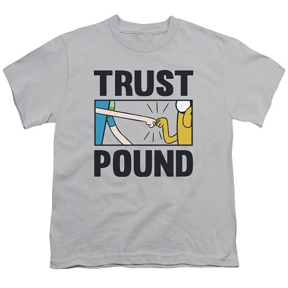 Adventure Time Trust Pound Youth Tshirt