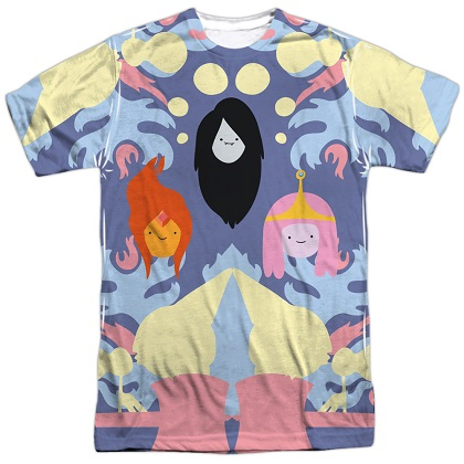 Adventure Time Girls Trio Tshirt