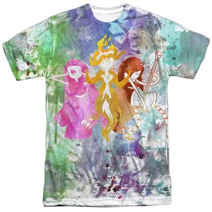 Adventure Time Three Girls Tshirt