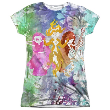 Adventure Time The Girls Womens Tshirt