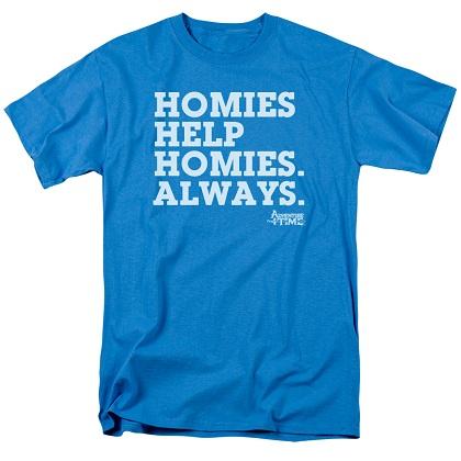 Adventure Time Homies Help Homies Tshirt
