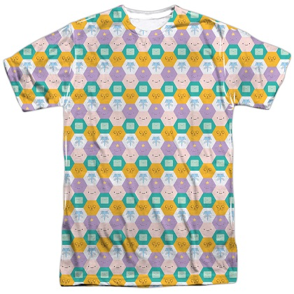 Adventure Time Faces Tshirt