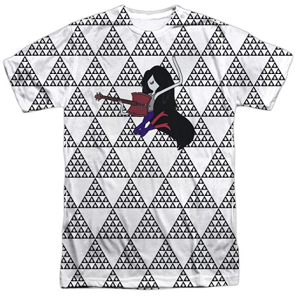 Adventure Time Marcy On Guitar Tshirt