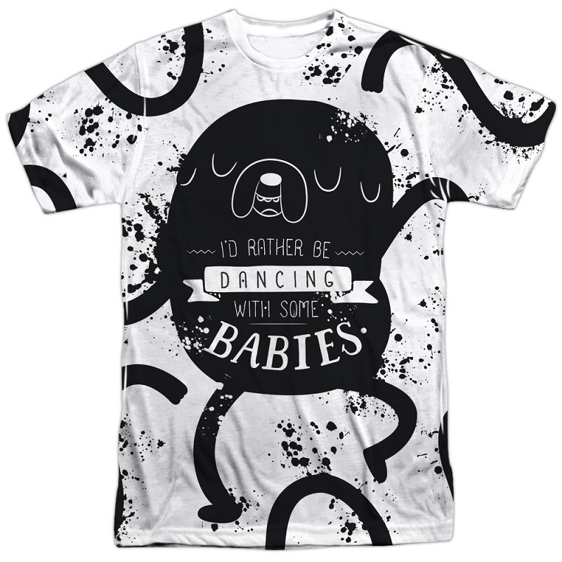 Adventure Time Rather Be Dancing With Babies Tshirt