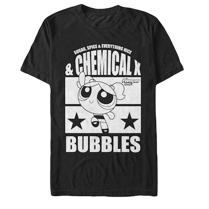 Power Puff Girls Chemical x Bubbles Tshirt