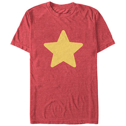 Cartoon Network Steven Universe Star Red T-Shirt