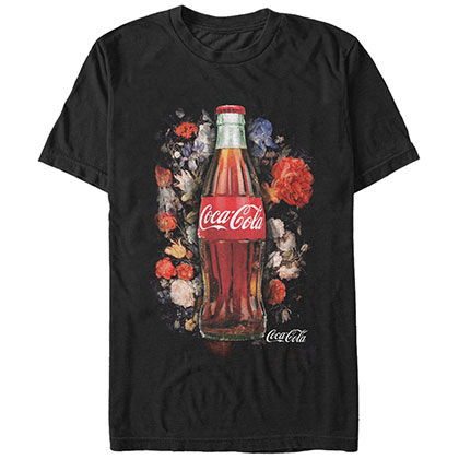 Coca-Cola Bottled Film BLACK T-Shirt