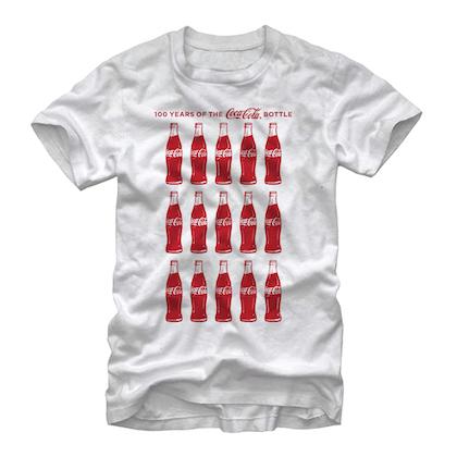 Coca Cola History White Tshirt