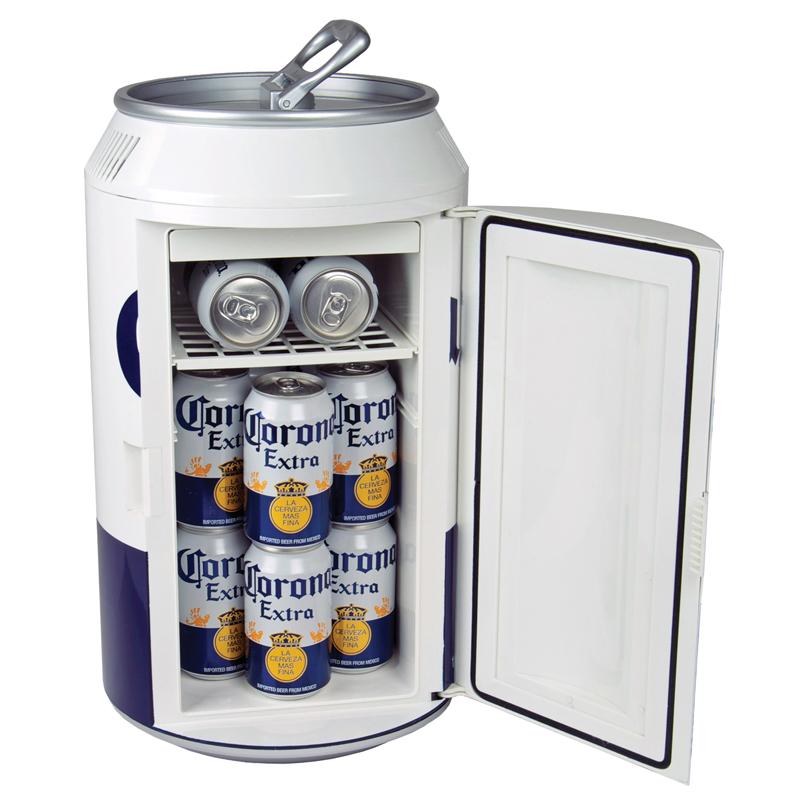 Beer Can Cooler ~ Corona can cooler mini fridge