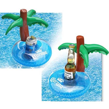 Corona Extra Palm Tree Inflatable Beverage Float