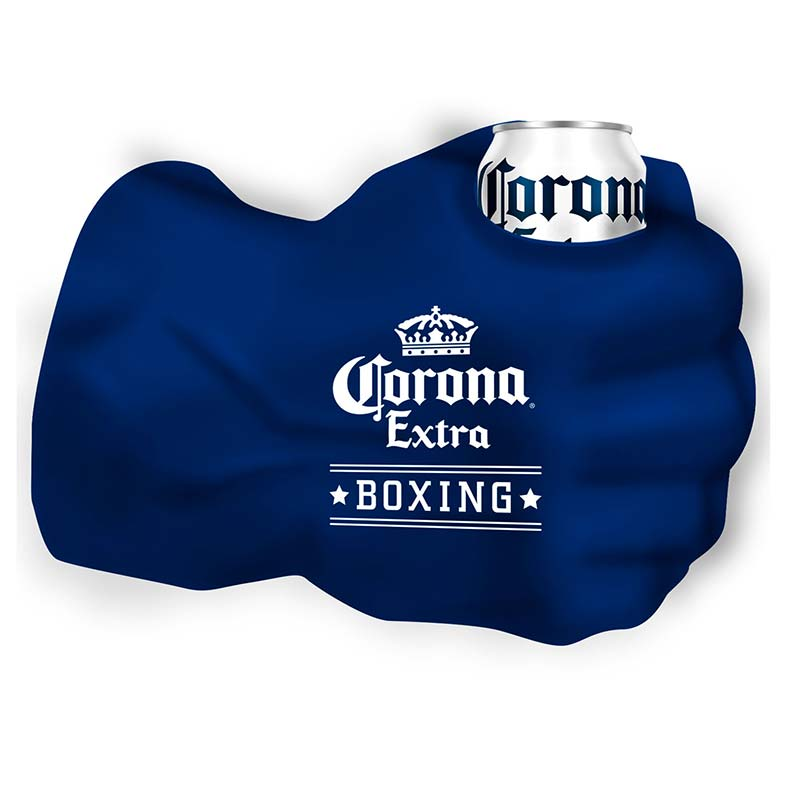 Corona Boxing Giant Fist Can Cooler