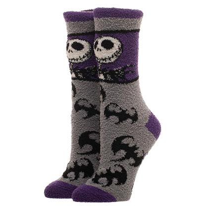 Nightmare Before Christmas Women's Fuzzy Socks