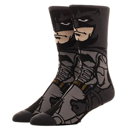 Justice League Men's Batman Portrait Socks