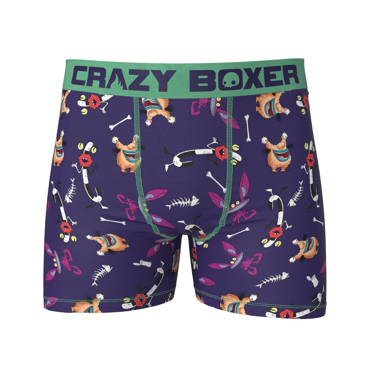 AAHHH Real Monsters Men's Stretch Boxer Briefs
