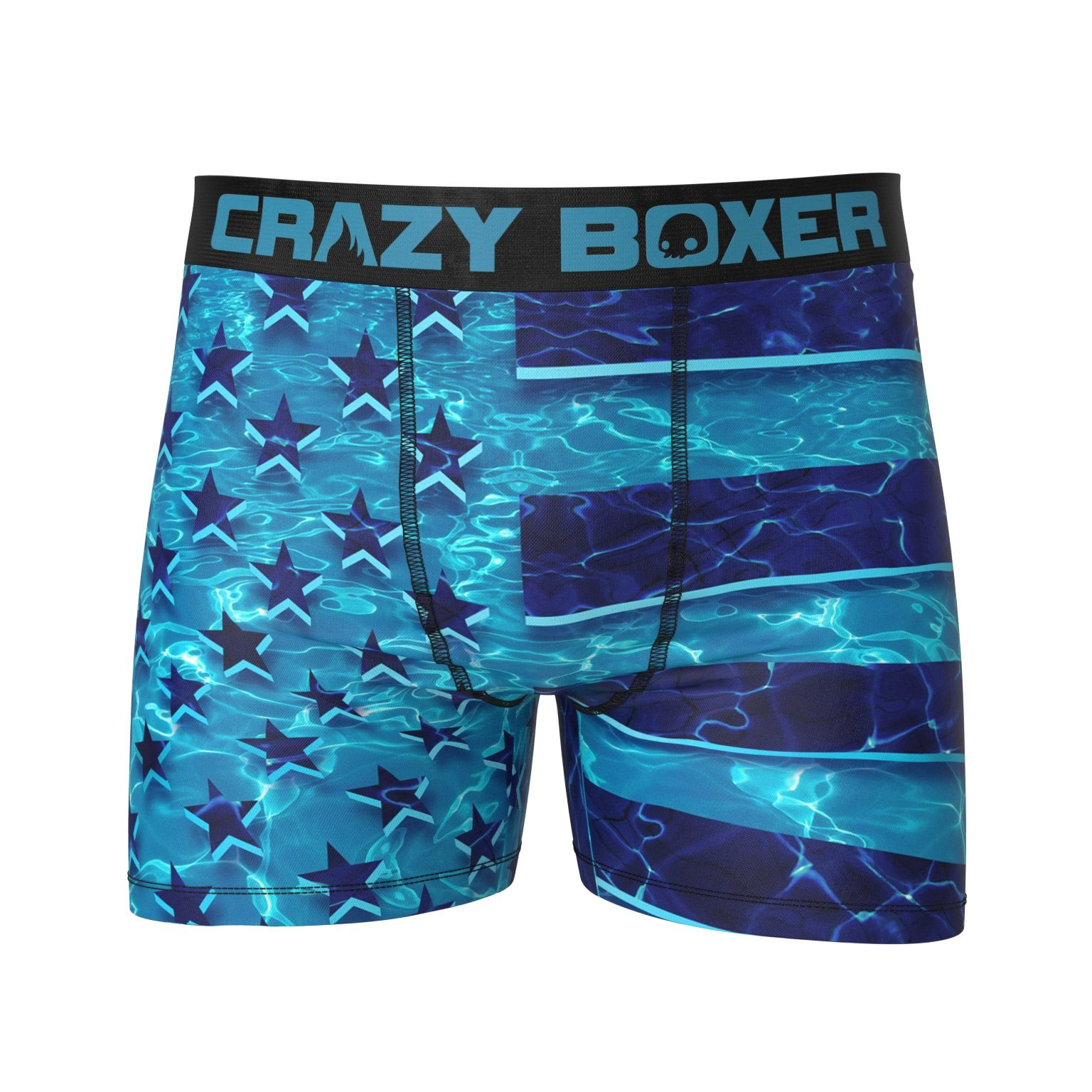 fc13a1beaf394 American Flag Swimming Underwater Boxer Briefs
