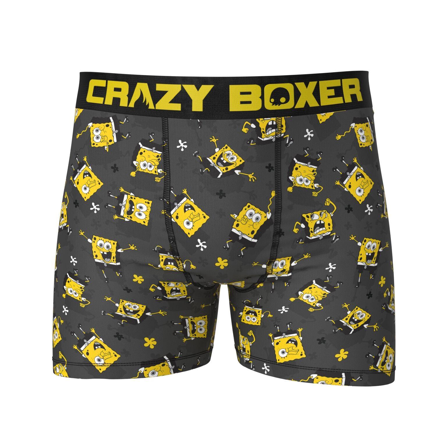 Spongebob Squarepants Character Boxer Briefs