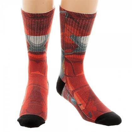 Captain America Civil War Iron Man Socks