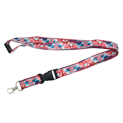Captain America Civil War Comic Lanyard