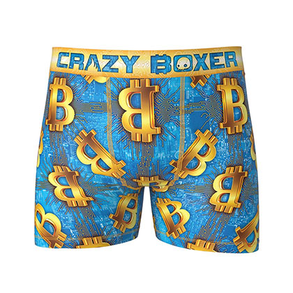 Bitcoin Design Men's Boxer Briefs