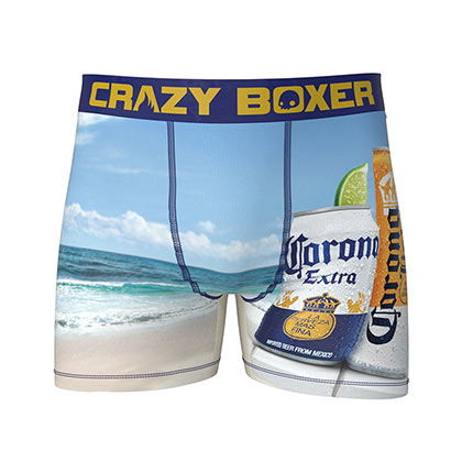 Corona Extra Find Your Beach Men's Boxer Briefs