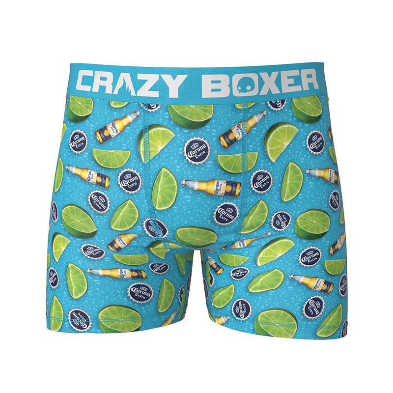 Corona Limes And Bottles Men's Boxer Briefs