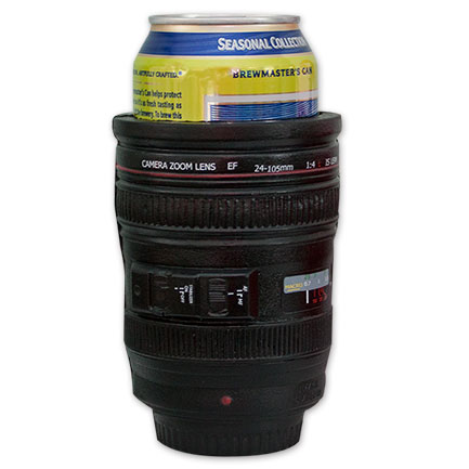 Camera Lens Out Of Focus Beer Koozie