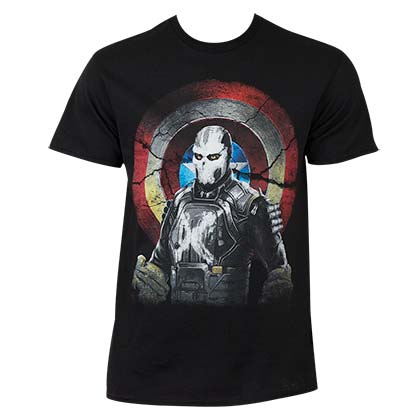 Captain America Civil War Marvel Mercenary Cross Bones Tee Shirt