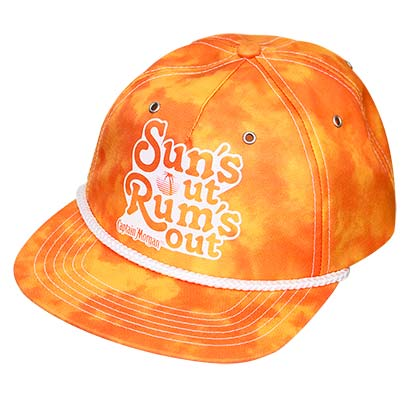Captain Morgan Orange Suns Out Rums Out Hat