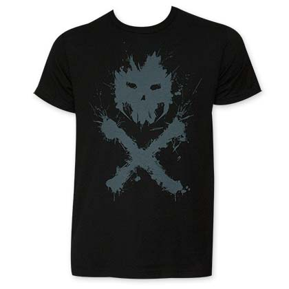 Captain America Crossbones Black Logo T-Shirt