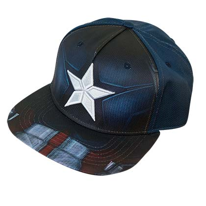 Captain America Star Logo Civil War Hat