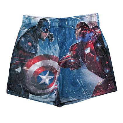 Captain America Movie Civil War Boxer Shorts