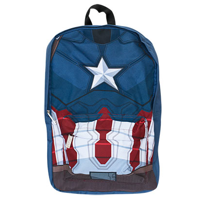 Captain America Civil War Blue Backpack