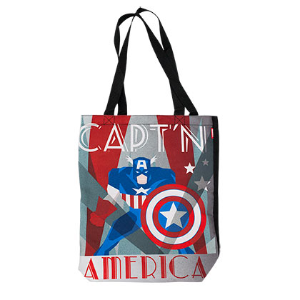 Captain America Decoart Tote Bag