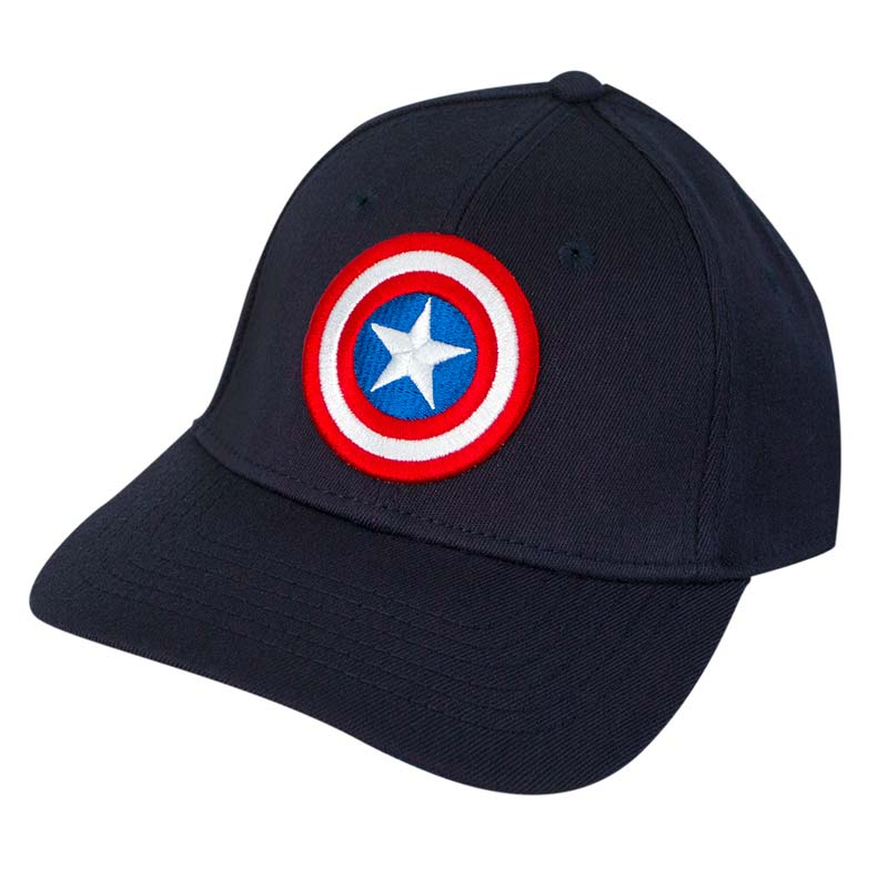 Captain America Comic Logo Flex Fit Hat