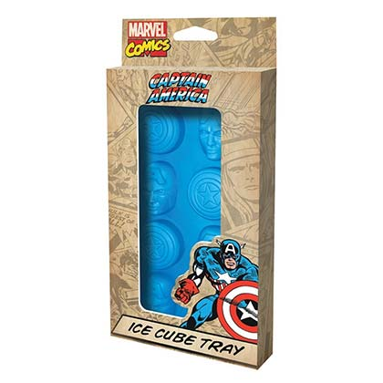 Captain America Blue Ice Cube Mold