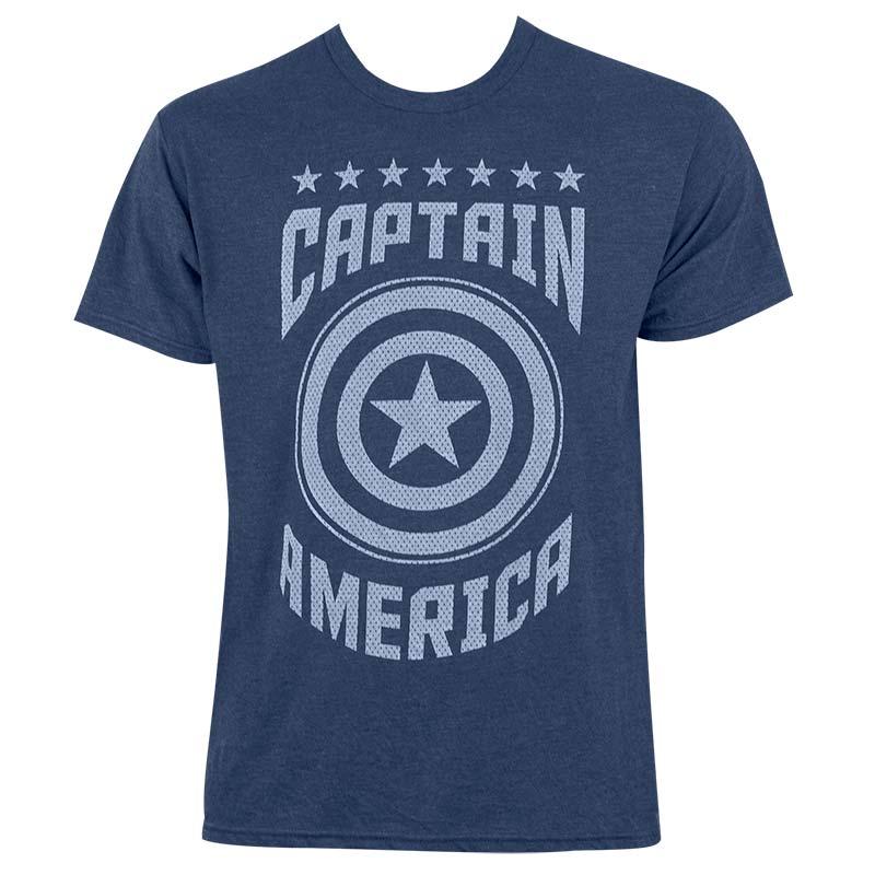 Captain America Varsity Tee Shirt