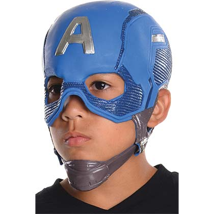 Captain America Youth Costume Mask