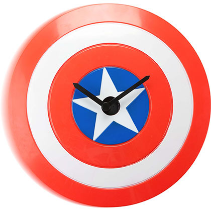 CAPTAIN AMERICA WOBBLE WALL CLOCK PLACEHOLDER