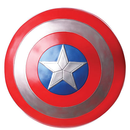 Captain America Plastic Costume Shield
