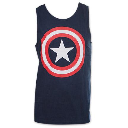 Captain America Logo Tank Top