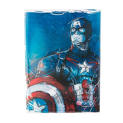 Captain America Shield Pose Magnet