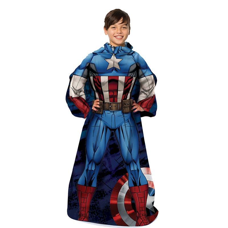 Captain America Youth Muscle Snuggie