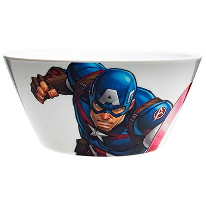 Captain America Melamine Soup Bowl