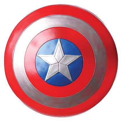 Captain America Youth Plastic Costume Shield