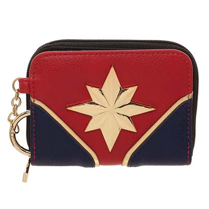 Captain Marvel Women's Zip Up Wallet