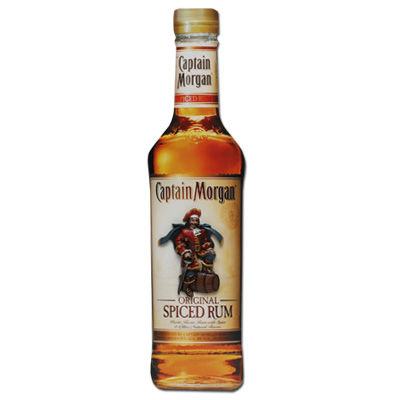 Captain Morgan Bottle Wall Art Sign
