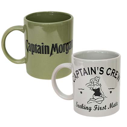 Captain Morgan Mug Set