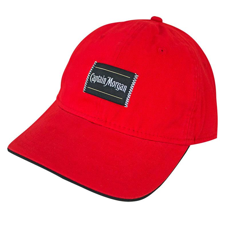Captain Morgan Basic Patch Men's Red Hat