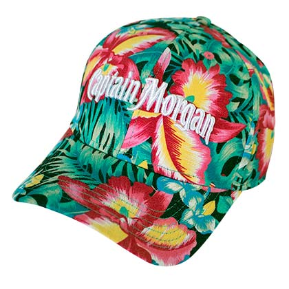Captain Morgan Floral Women's Hat