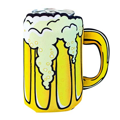 Beer Mug Die Cut Can Cooler